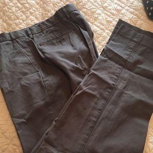 Men's j crew gray dress pant 34/32